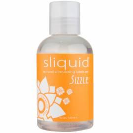 Sliquid Naturals Sizzle - Lubrifiant Stimulant pe Baza de Apa 125 ml, image