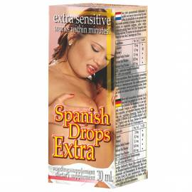 Spanish Drops Extra - Afrodisiac pentru o Viata Sexuala Activa 30ml, image