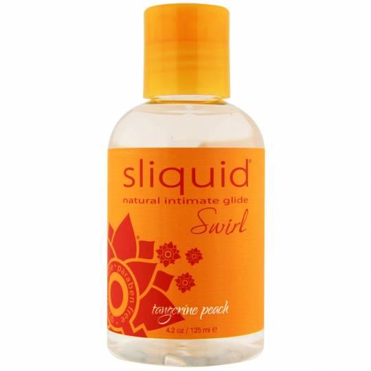 Sliquid Naturals Swirl Tangerine Peach Lubricant, image