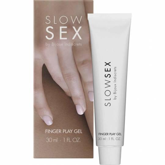 Slow Sex - Finger Play Gel by Bijoux Indiscrets