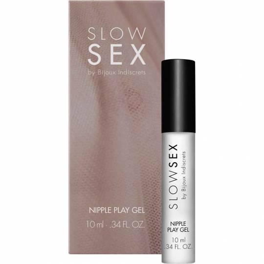 Slow Sex Nipple Play Gel- Balsam pentru stimularea sanilor by Bijoux Indiscrets  10 ml