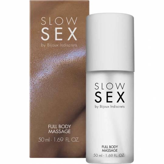 Slow Sex - Full Body Massage by Bijoux Inidscrets 8 ml