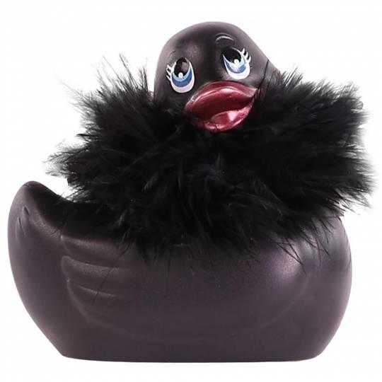 I Rub My Duckie Vibrator Clitoridian Waterproof - Negru Paris, Culoare: Negru