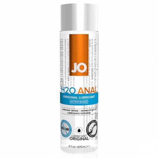 System Jo Anal H2O - Lubrifiant Anal pe Baza de Apa 120 ml, image