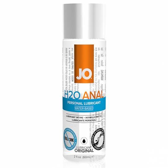 System Jo Anal H2O - Lubrifiant Anal pe Baza de Apa 60 ml, image